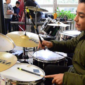 Rockmobil Schlagzeug 1